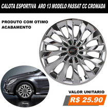 Calota Esportiva Aro 13 Ford Ka Fiesta Escort Cromada Carro