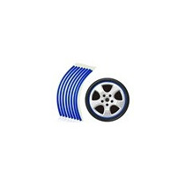 Faixa Reflexiva Para Rodas De Carro (azul)