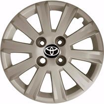 Jogo De Calotas Esportivas Toyota Corolla E Fielder Aro 15