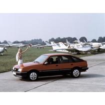 Monza Sr Jogo De Calotinhas Opel Originais Lacradas !