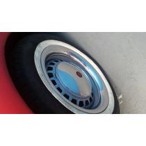 Sobre Aro 14 Cromado Em Metal ,rodas De Ferro