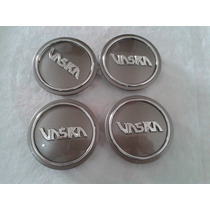 Kit Sub-calota Para Centro De Roda Vaska Vk284