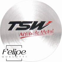 Emblema Rodas Tsw 51mm - Unitário