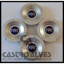 Kit Calota Calotinha Roda Fiat Stilo Abarth Aro 17 - 4 Pçs