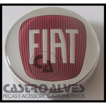 Calota Calotinha Centro Roda Esportiva Scorro Fiat 56mm-1 Pç