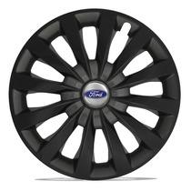 Calota 13 Passat Preta Black Grafite Ford Ka Fiesta Escort