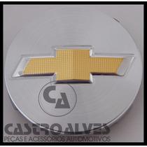 Calota Calotinha Centro Esportiva Scorro Gm Prata 56mm -1 Pç