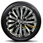Calota Jogo 4pçs Civic Fit City Honda Cromada Aro 14 117chrj