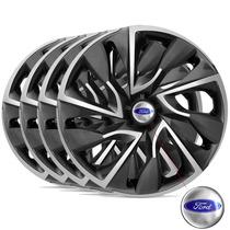 Jogo Calota Aro 14 Esportiva Ds4 Ford Ka Fiesta Focus Escort