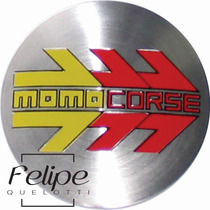 Emblema Rodas Momo Corse 58mm - Unitário