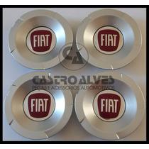 Kit Calotas Roda Fiat Stilo Abarth Aro 14|15|16|17 - 4 Pçs