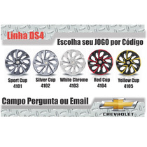 Calota Aro 14 Celta Onix Corsa Gm Esportiva Ds4 Jogo
