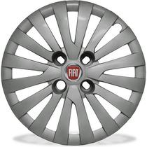 Calota Jogo 4pçs Novo Uno Idea Doblo Punto Aro14 Fiat 117j