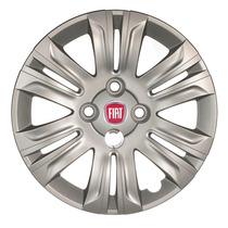 Calota Jogo 4pçs Doblo 2015 Fiat Aro14 P41j
