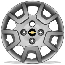 Calota Aro 14 Chevrolet Gm P/ Corsa Prisma Meriva + Emblema