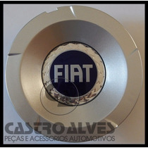 Calotinha Da Roda Fiat Stilo 2.4 Abarth Nova Aro 17 Azul