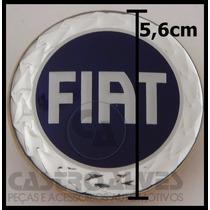 Calota Calotinha Tampa Roda Esportiva Krmai Fiat 5,6cm -1 Pç