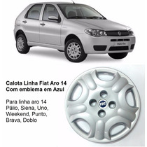 Calota Fiat Palio Siena Uno Punto Doblo Aro 14 (unidade)