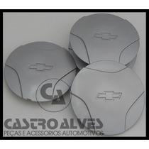 Jg Calotas Tampa Miolo Roda Ferro Corsa Wind Aro 13 - 4 Pçs