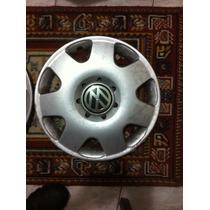 Calota Original Volkswagen Vw Fox 14 Pol