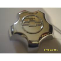 Calota Cromada Miolo Centro Roda S10/ Blaser 2001 Em Diante