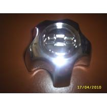 Calota Miolo Centro Roda S10/ Blaser 2001 Em Diante Cromada