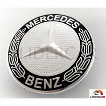 Calota Miolo Roda Mercedes Classe B, C, E, Ml - Original