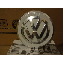 Calota Centro Roda Up Fundo Branco 100% Original Volkswagen