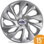 Carlota Esportiva 15 Ds4 Silver Prata Ford New Fiesta Focus