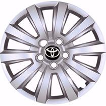 Calota Aro 15 Toyota Corolla De Ano 2009 Á 2015 Lançamento!!