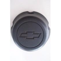 Calota Cubo Miolo Roda De Ferro S10 Blazer 5 Furos Preta