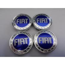 Jogo Calotinha Centro De Roda Fiat 51mm