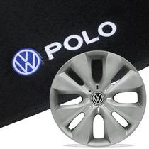 Jogo De Calotas Aro 15 Para Volkswagen Polo + Tapete Bordado