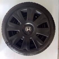 Calota Jogo 4pçs Civic City Honda Aro 15 P458pfj