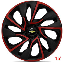 Calota Jogo Aro 15 Red Ds4 Corsa Celta Prisma Onix Meriva
