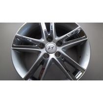 Aplique Cromado Roda 17 Do Hyundai I 30 Peça Nova R$ 34,99