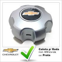 Calota Centro Miolo De Roda Gm Nova S10 Lt E Ltz Prata
