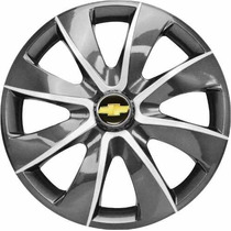 Calota Aro 13 Graphite Silver Gm Celta Corsa Prisma Classic
