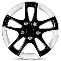 Calota Tuning Sport Ring Black White Chevrolet Celta Aro 14