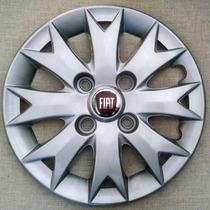 Calota Palio Siena Aro 13 Fiat P535 Emblema Alumínio