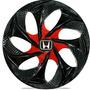 Jogo Calota Aro 14 Esportiva Evolution Honda Civic Fit