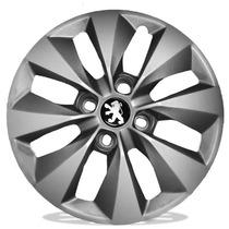 Calota Aro 14 Esportiva Peugeot Sw 206 207 Hoggar + Emblema