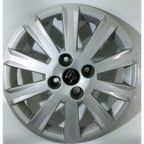 Calota Sandero Logan Symbol Aro 15 Emb. Alumínio Renault 018