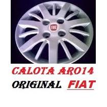 Calota Aro 14 P/ Fiat Palio ,siena ,idea / 100%original Fiat