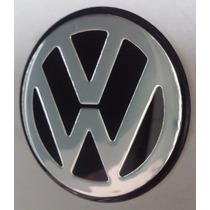 Emblema Volkswagen Adesivo Miolo Tampa Roda Liga 69mm - 1 Pç