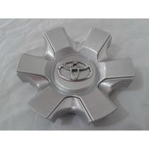 Calota Para O Centro De Roda Toyota Hilux Prata