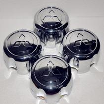 Conjunto 4 Calotas De Centro - Mitsubishi Pajero Sport/ L200