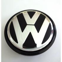 Kit Sub Calota Centro Roda Miolo Volkswagen Gol 09 Fox
