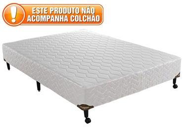 Cama Box Casal 138x188 Sem Colchão