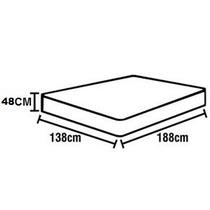 Conjunto Box Completo Casal Ortobom Light Nanolastic Selado